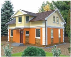 Хозяйственный способ строительства одноквартирных домов.