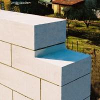Шлакобетонные блоки для наземной кладки.