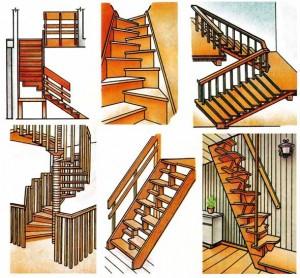 Внутриквартирные лестницы.