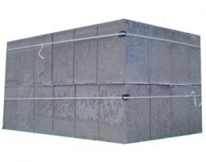 Стеновые блоки и бетона.